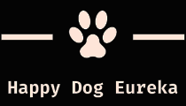 happy dog eureka logo footer